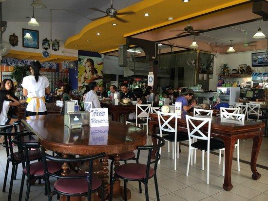 Uptown Restaurant: Blick in die Küche