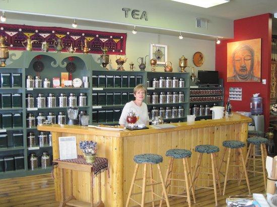 Teas & Weaves: tea bar at Teas and Weaves