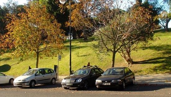 Hotel Miraparque: Vista da frente do Hotel.