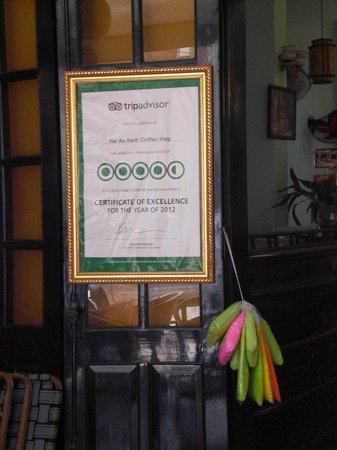 Hai Au Boutique hotel and spa: For Tripadvisor only