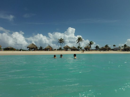 Boardwalk Hotel Aruba: beach