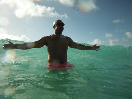 Boardwalk Hotel Aruba: perfect water