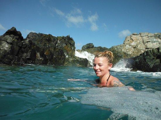 Boardwalk Hotel Aruba : natural pool