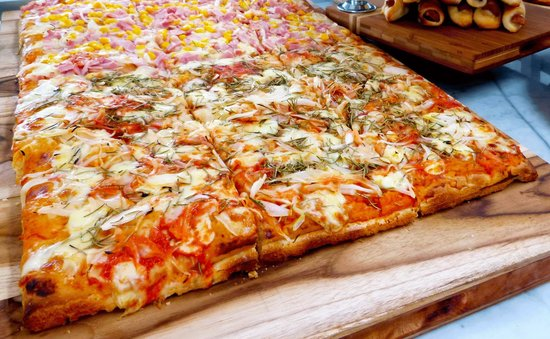 PIZZA.EAT: Pizza focaccia italiana
