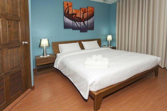 Pattaya Garden Apartments: Deluxe Double Room