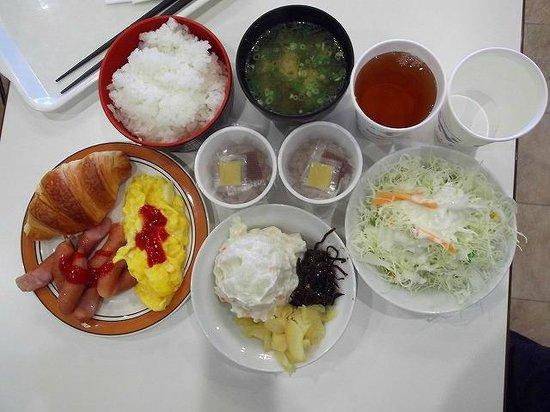 「ホテルエコノ東金沢 朝食」の画像検索結果