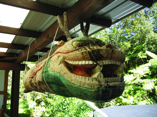 Lotus Garden Cottages: Dragon Fish Drum and Fungshui