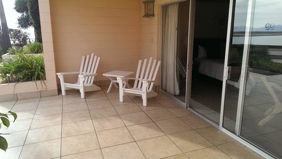 Estero Beach Hotel & Resort : Patio