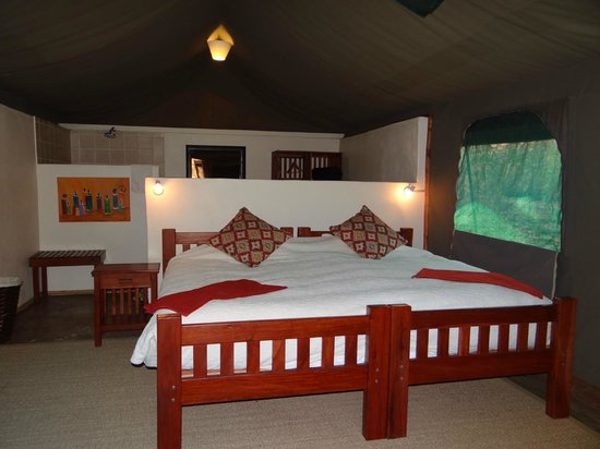 Elephant Valley Lodge: Our tent