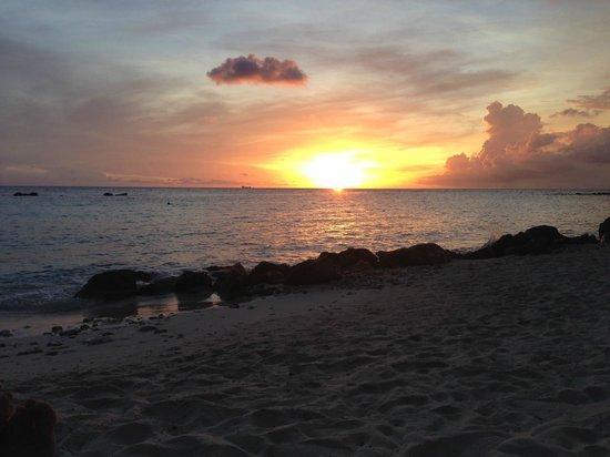 Curacao Marriott Beach Resort & Emerald Casino: View from the Resort's Private Beach