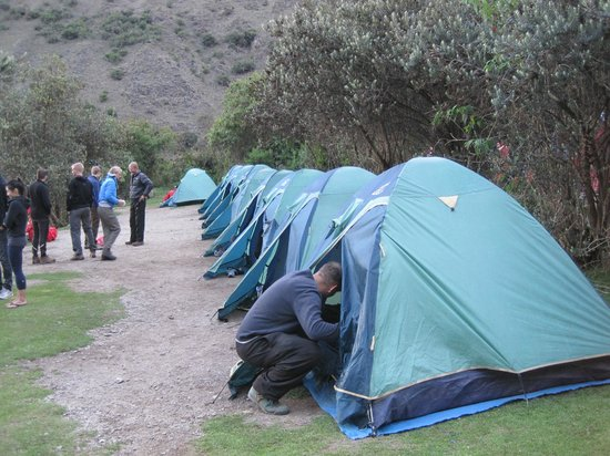 tents - Picture of Llama Path, Cusco