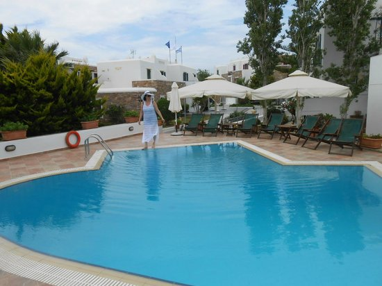 Hotel Spiros : Pool was nice