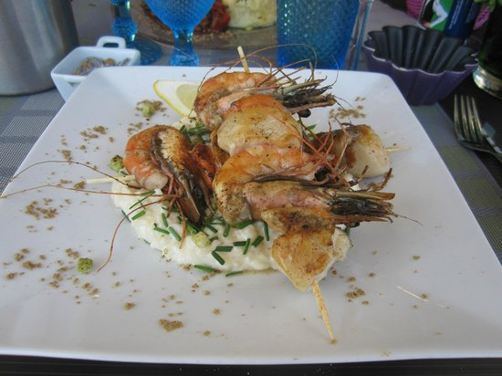 A Table : Risoto de frutos do mar.