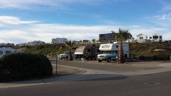 Pacific Dunes Ranch RV Resort: Lower camping area