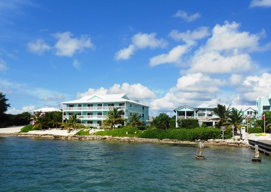 Compass Point Dive Resort: Our building
