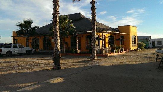 Hotel Villas Mar y Arena Ecotours: Restaurant