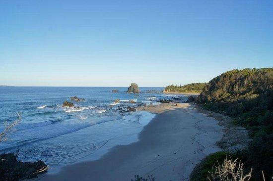 Narooma Motel: Glasshouse Rocks Beach
