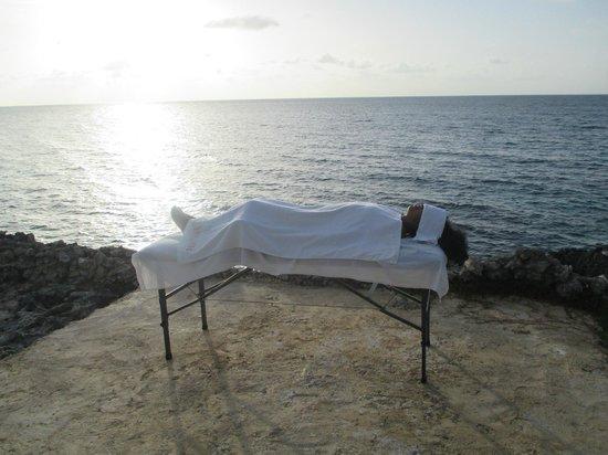 Tanya's Secret Escape: Relaxing after an evening massage