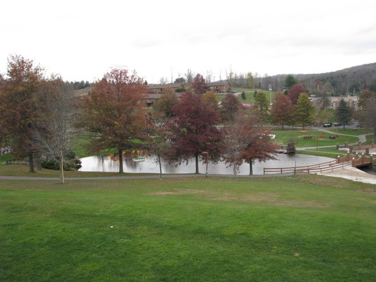 Villa Roma Resort and Conference Center : beautiful fall in the Catskills