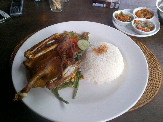 Semar Warung Mas: Crispy duck