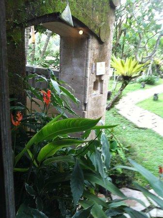 Wapa di Ume Resort and Spa: Outside villa