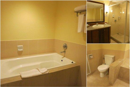 Palm Beach Resort & Spa: Spacious bathroom