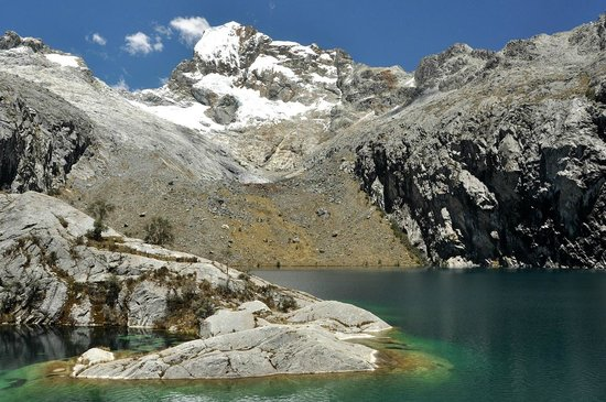 Lake Churup: Churup is a glacier fed lake