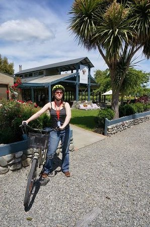 Hillsfield House Bed and Breakfast Marlborough: Biking to Cellar Doors