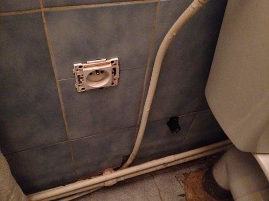 Prise de la salle de bain photo de hotel bellevue saint for Comdistance prise salle de bain