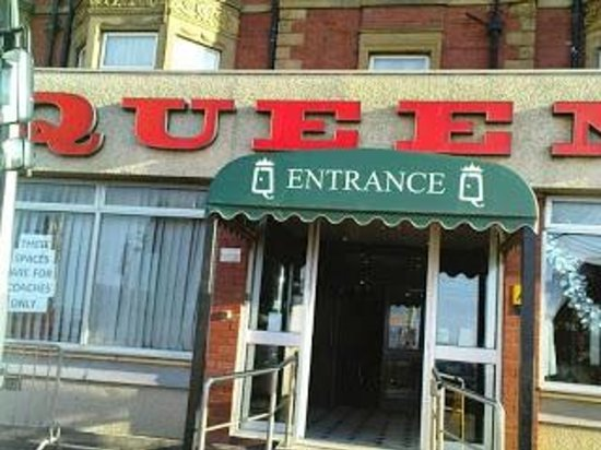 Queens Hotel Blackpool Turkey And Tinsel