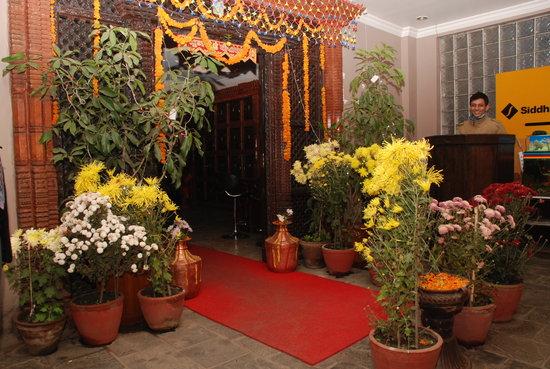Kathmandu Resort Hotel: Hotel Entrance