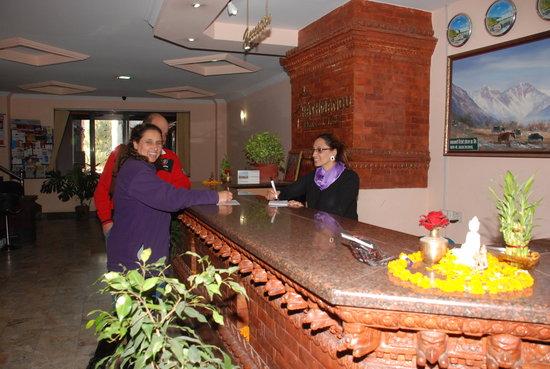Kathmandu Resort Hotel: Receiption