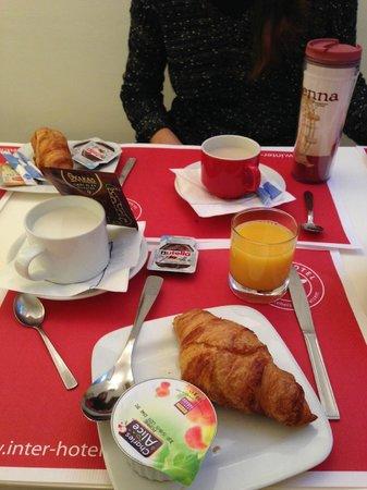 Hotel Lecourbe: Colazione