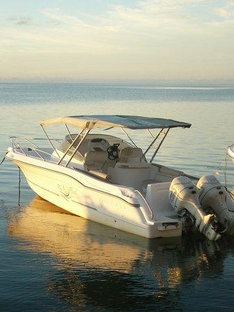 Bel Ombre: The Pearl I, l'un de nos 3 bateaux