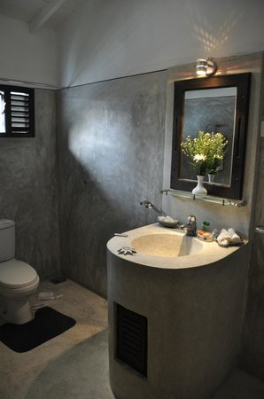 Ridee Villa : clear bathroom