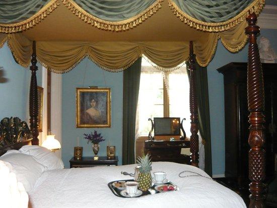 Oak Alley Plantation : Master bedroom