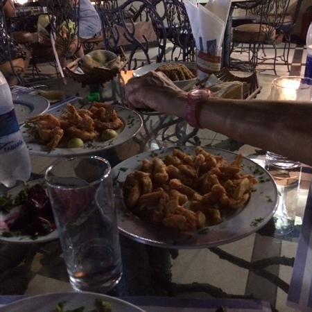 Red Sea Fish Restaurant : Fritto di gamberi e calamari
