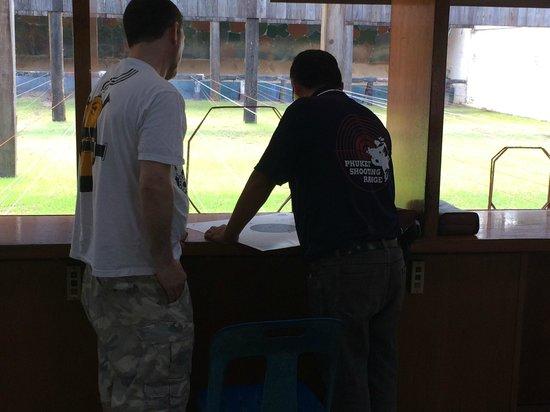 Phuket Shooting Range: Shooting range