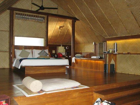 Jetwing Vil Uyana: notre chambre à coucher