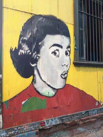 Valparaiso Experience Apartments: Local street art
