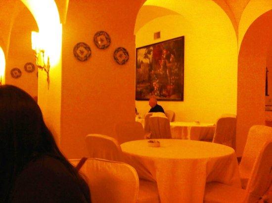 Hotel Palazzo Alabardieri: breakfast room