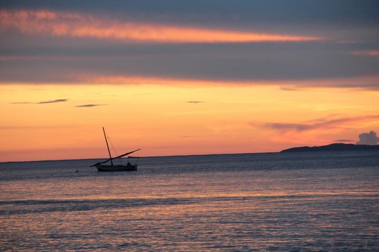 Diamond Beach Village: Sunset