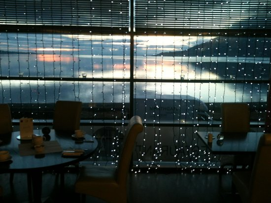 The Balmoral: Sunrise from the restaurant2