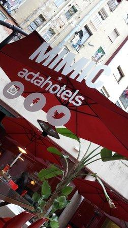 Hotel Acta Mimic : planta -1