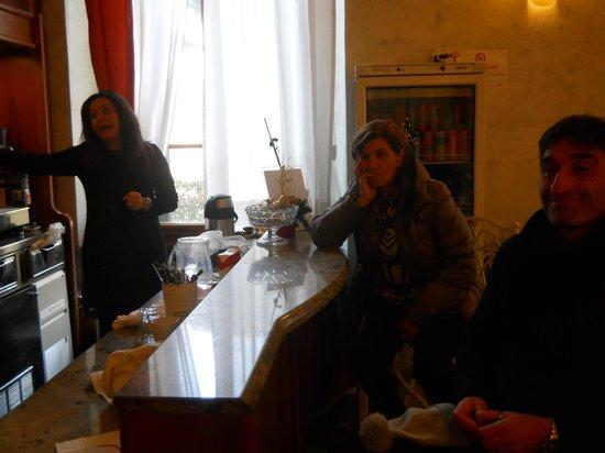 Hotel Giglio : caffè al bar