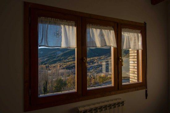 Casa Rural Tomaso: Vistas desde la ventana del salon del apartamento