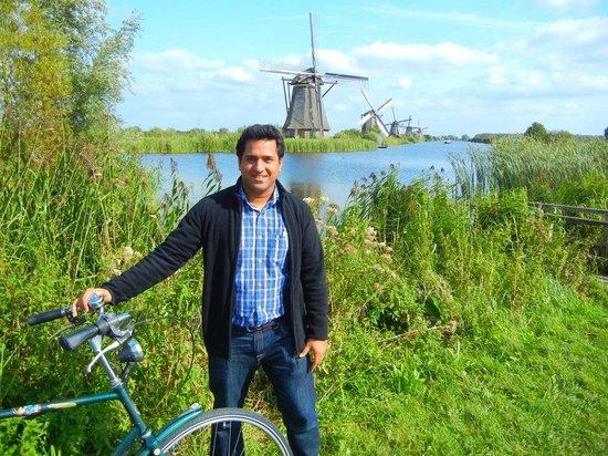 Réseau de moulins de Kinderdijk-Elshout : Windmill at Kinderdijk