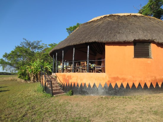 Wasa Lodge: Lodge from the outside
