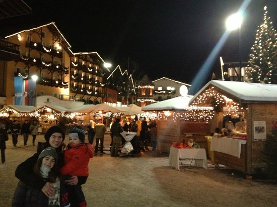 Hotel Lärchenhof: Mercatino di Natale a Seefeld
