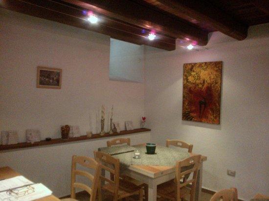 Agriturismo Ovindoli Cashmere: La sala ristorante...